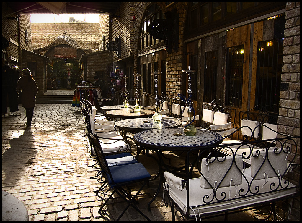A shopping day in Candem Stables Market