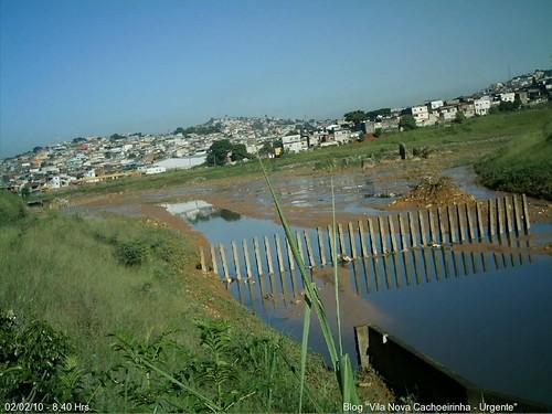 Panorâmica do piscinão Inajar de Souza