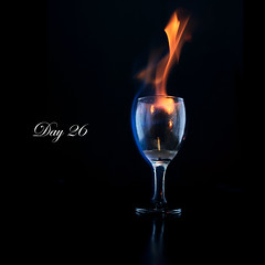 Day 26: Flame (L S G) Tags: fire flame d3 project365 strobist 365daysproject nikond3 365daysvv