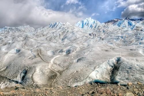 Climbing Perito Moreno