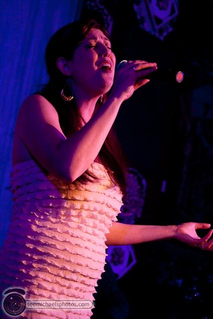 Karin Carson CD Release Show at Tango Del Rey 12310 © Michael Klayman-046