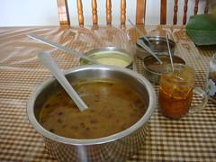 dsc03780 (MoNOloGuE0) Tags: cuisine kerala banana onam buttermilk pappadam achar payasam sadya avial onasadya