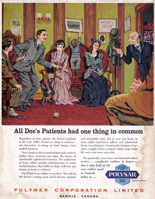 Vintage Ad #1,034: All Doc's Patients had one thing in common