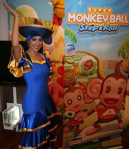 Super Monkey Ball Step & Roll - NWS Launch Event