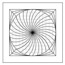 Spiral Coaster pattern