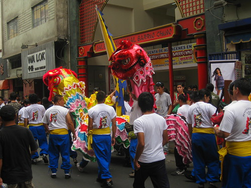 parade in Chinatown
