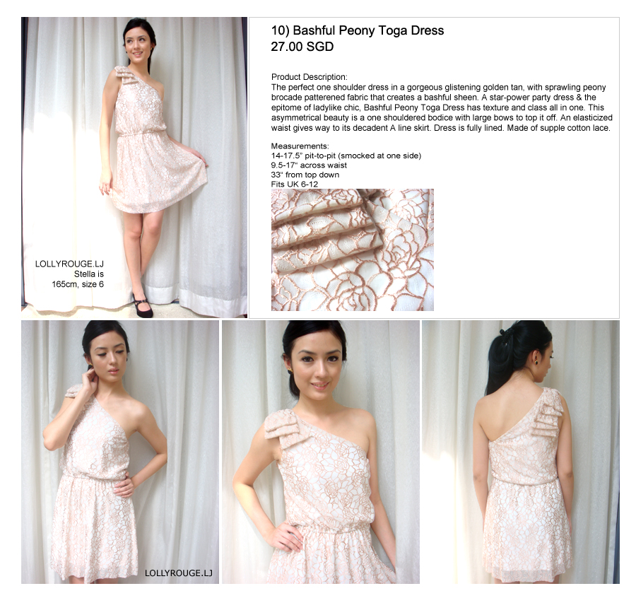 Thread: looking for lollyrouge bashful peony toga dress