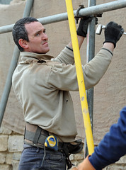 Scaffolder (Nikonsnapper) Tags: man nikon poles nikkor 70200mm scaffolder d700 525of2010