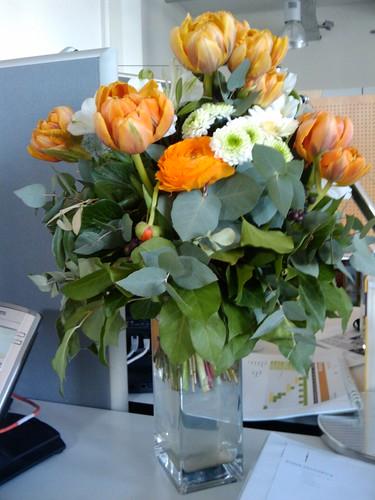 Willkommens-Blumen