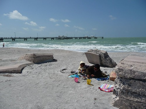 fort de soto beach.