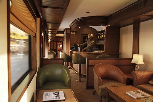 Maharajas' Express Luxury Train (India)