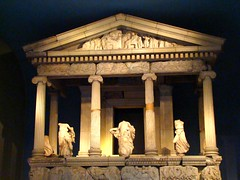 Greek Temple-  British Museum (Austrian Lancer) Tags: christmas vacation london museum december united kingdom british 2009 yahoo:yourpictures=bestofbritish yahoo:yourpictures=sculpture