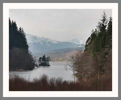 Dundochil (Mac ind g) Tags: winter reflection castle ice walking landscape scotland frozen framed ruin loch milton trossachs ard thetrossachs lochard lochlomondandthetrossachsnationalpark dundochill dukemurdochscastle