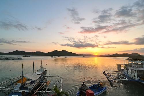 scuba diving wreck in coron palawan