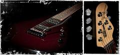 My guitar (Julio Barros) Tags: canon 50mm guitar jp f56 vivitar musicman xsi 50mmf18 johnpetrucci vivitar285hv canonxsi motleypixel