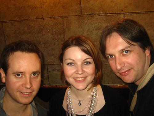 Andy, Dasha and me