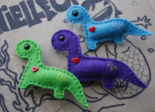 New Brontosaurus Brooches!