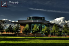 (DN Photography) Tags: blue green grass modern clouds buildings campus amazing riverside 28 uc hdr ucr d300 nikon2870mm