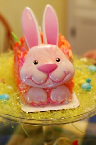 Creepy Bunny Cake