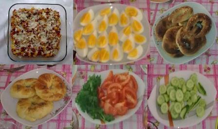 kahvaltı genel