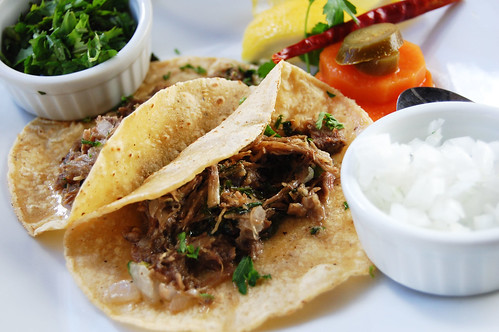 Tacos de Costilla de res - Taninos Wine Bar Tijuana