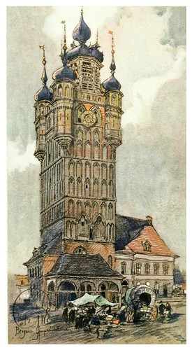 013- Campanario de Bergues en Flandes-Vanished towers and chimes of Flanders 1916- Edwards George Wharton