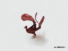 Lyrebird (Al3bbasi.) Tags: bird origami lyrebird kamiyasatoshi al3bbasi