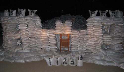 sapper sandbag castle