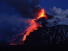 The Greatest Show On Earth (etnaboris) Tags: morning italy volcano italia sicily etna eruption sicilia mattina lavaflow 2011 paroxysm colatalavica parossismo lavafountain fontanadilava