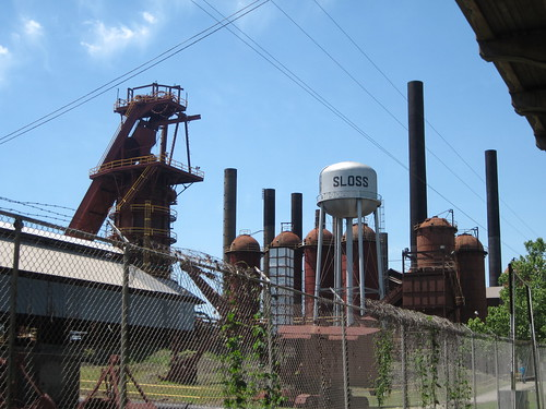 Sloss Furnace, Birmingham, Alabama by fables98