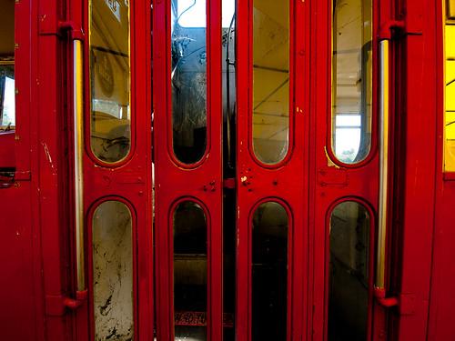 Bristol Bus Folding Doors Wide
