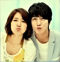 Jung Yonghwa and Park Shin Hye Promotional Polariods for Heartstrings /You've Fallen For Me