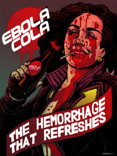 Transmet Art Book: EBOLA COLA by sobreiro