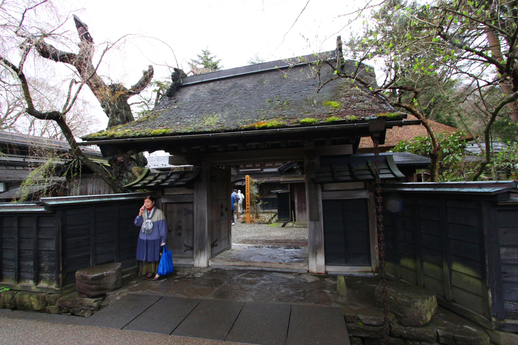 Tohoku Trip 1st day in Akita prefecture, Kakunodate (5)