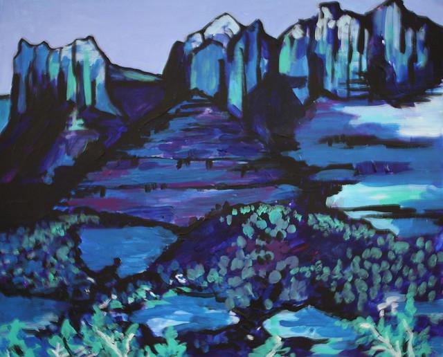 Sedona In Blue