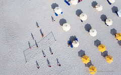 People playing beach volley at the beach of Kallithea, one of the most visited destinations in Greece. Top View (vasilisververidis) Tags: travel beach view volley destination coast leisure fun tropical seaside horizontal sand panoramic sunny swim scenery summer seafront kids umbrella people holidays playing sightseeing nice woman blue relax outdoors tourists seascape scenic bay sunbeds greece kallithea sea beautiful background turquoise child water coastline exotic man vacation landscape ocean halkidiki aerial macedoniagreece makedonia