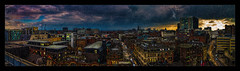 Northern Quarter (Kev Walker ¦ 8 Million Views..Thank You) Tags: panorama panoramic photoborder manchester northernquarter northwest hdr lancashire canon1855mm clouds sky twighlight