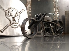 Welded Metal Bike Sculpture 96