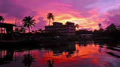 Kerala Is The Best A Photographer Can Get For Such Fiery Settings. (Anoop Negi) Tags: world travel sunset portrait india color colour ice nature water fire photography for living photo media photographer place image photos delhi indian bangalore creative culture houseboat lifestyle kerala images best canals po tradition mumbai anoop backwaters journalism alleppey negi photosof ezee123 bestphotographer imagesof anoopnegi alappuzah jjournalism