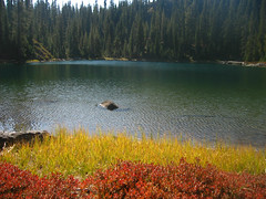 Autumn Colors, Echo Lake. Photo