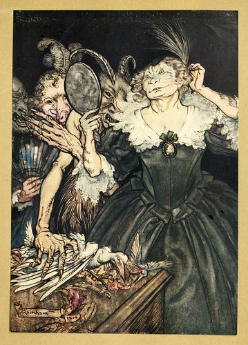 005-Comus de John Milton-ilustrada por Rackham 1921