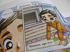 baby manga-Einstein