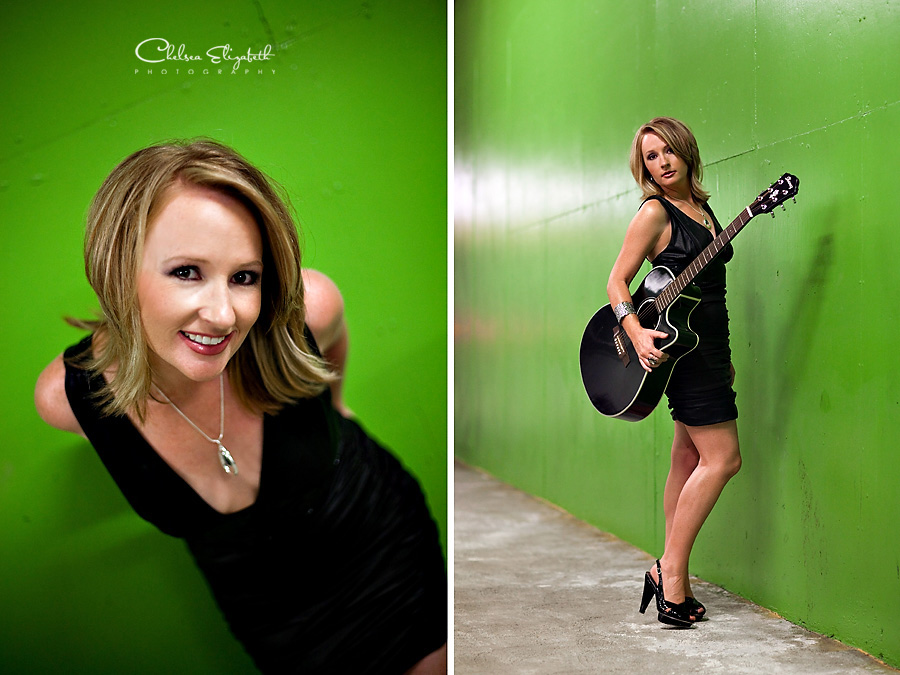 Headshot Photography Los Angeles Gibson Guitar