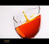S h a r p (Faisal   Photography) Tags: white broken glass speed photography drop explore l usm frontpage f28 ef ef2470mmf28lusm hight 2470mm orangesplash canoneos50d faisal photography فيصلالعلي