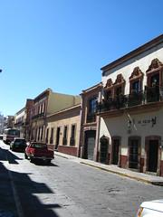 Calle en zacatecas