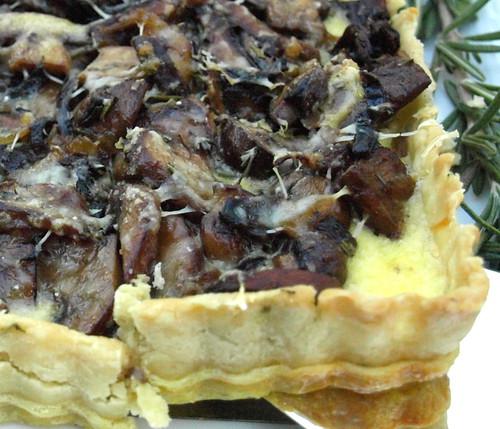 more mushroom tart