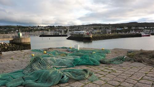 Fishing nets at Howth