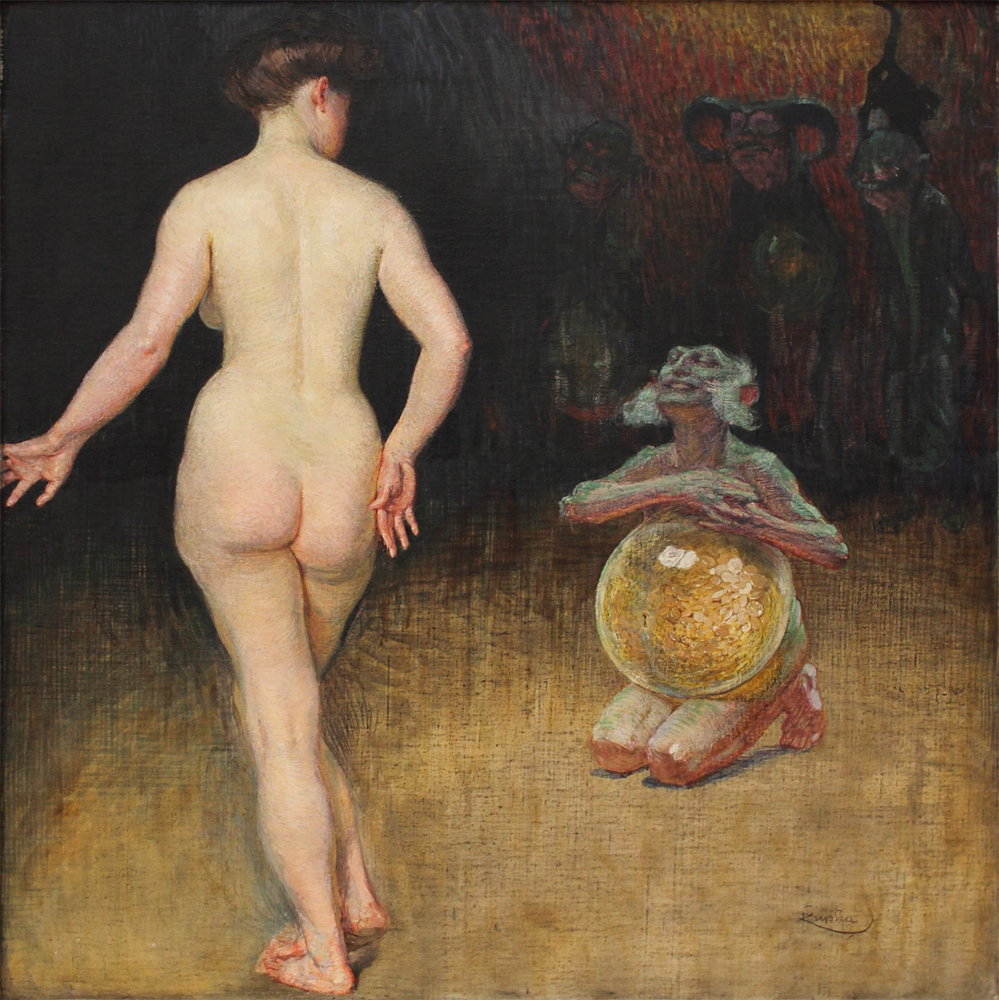 Frantisek Kupka, Money, 1899