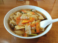 Gomoku soba ( ramen ) from kashunro @ Asakusa (Fuyuhiko) Tags: street restaurant tokyo chinese ramen soba  noodle asakusa    gomoku       kashunro kashunrou kotodoi