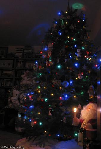 Christmas tree and Santa Bears 2